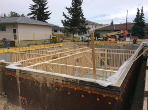 Basement Framing Start-1