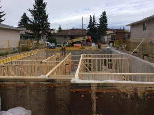Basement Framing Start-2