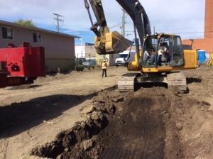 Excavation Start