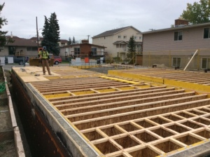 Main Floor Framing Joists-1