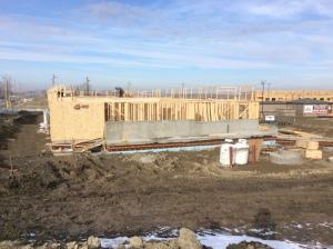 site-progress-framing-south-elevation